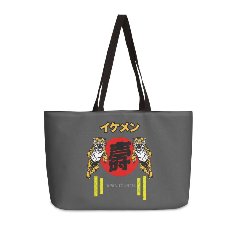Ikemen Japan 2018 Accessories Weekender Bag Bag by Klick Tee Shop