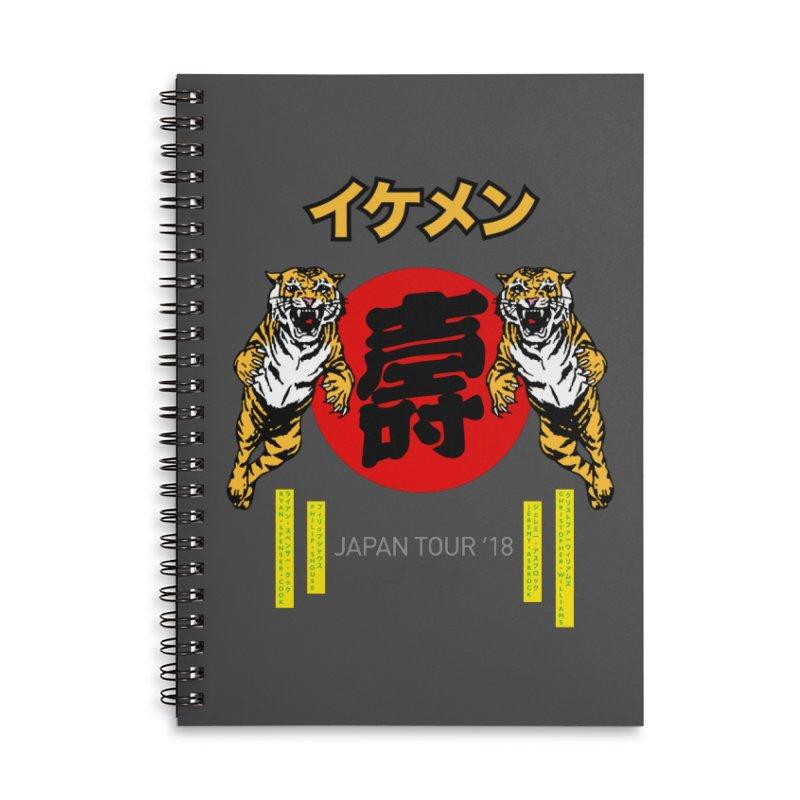 Ikemen Japan 2018 Accessories Notebook by Klick Tee Shop