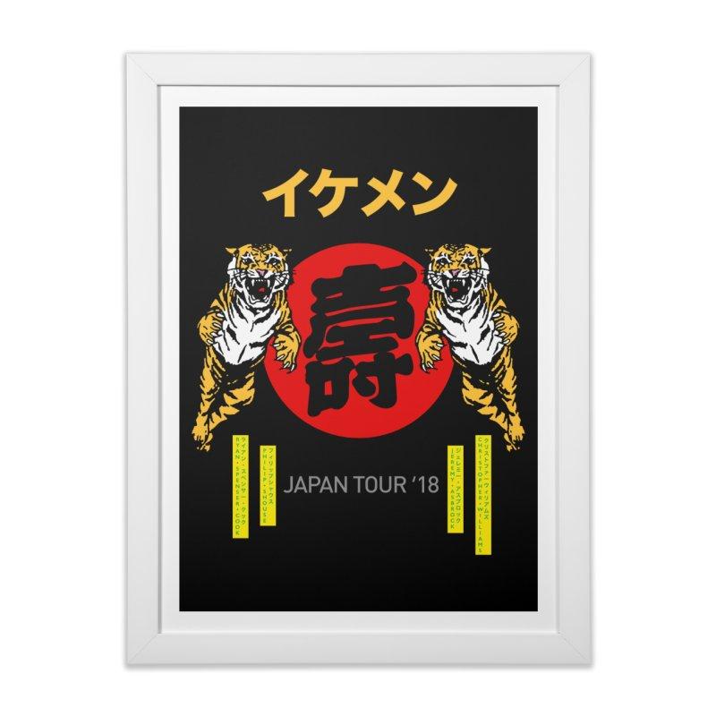 Ikemen Japan 2018 Home Framed Fine Art Print by Klick Tee Shop