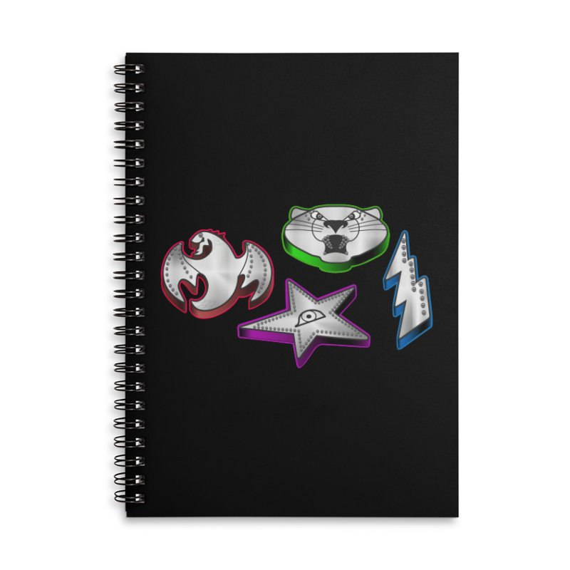 The Talisman Accessories Notebook by Klick Tee Shop