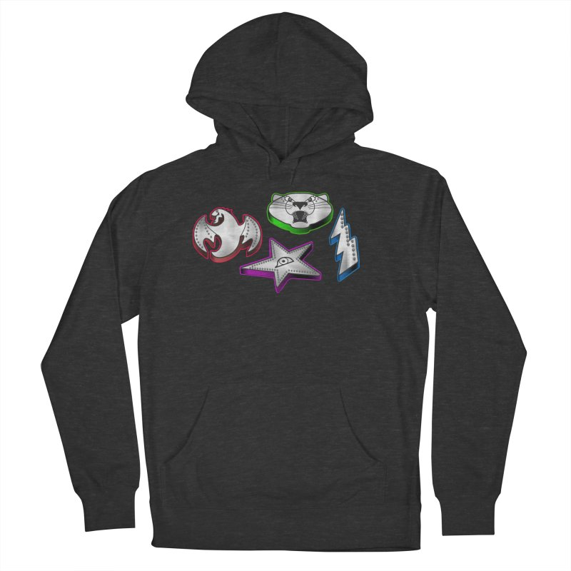 The Talisman Men's French Terry Pullover Hoody by Klick Tee Shop