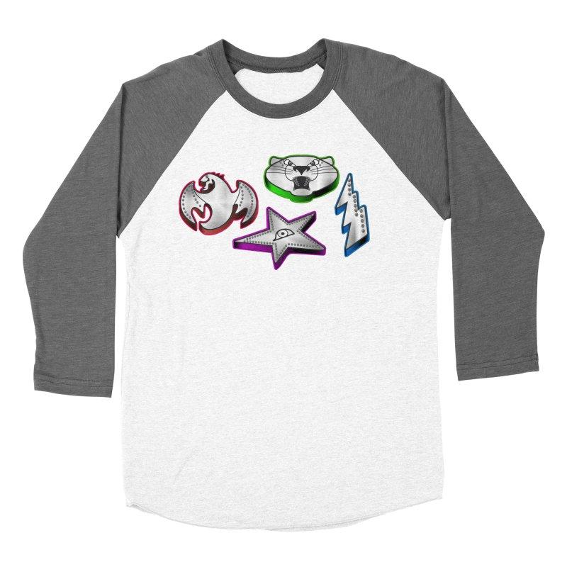 The Talisman Women's Baseball Triblend Longsleeve T-Shirt by Klick Tee Shop