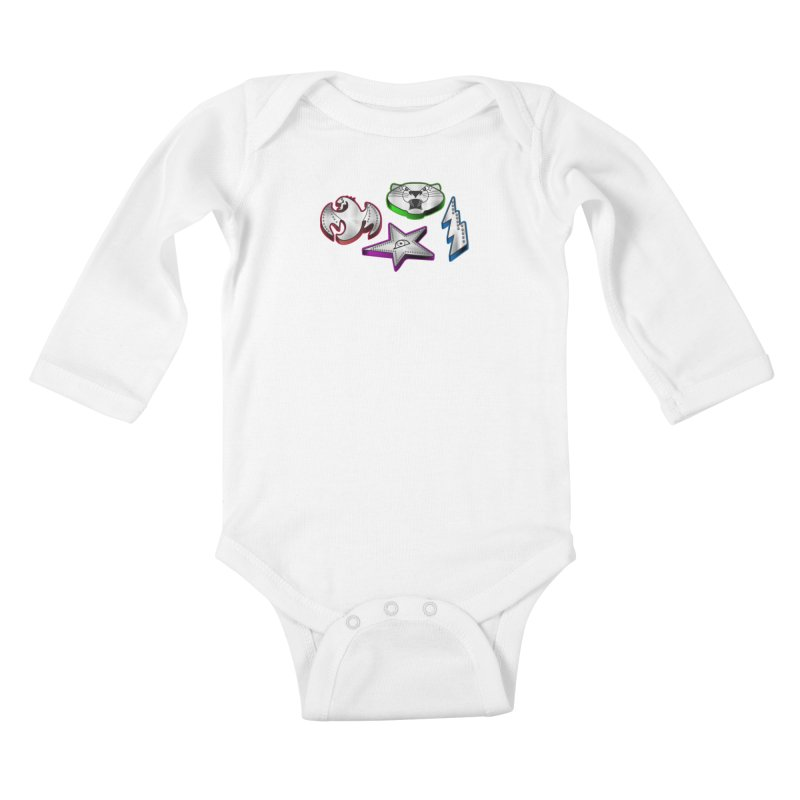 The Talisman Kids Baby Longsleeve Bodysuit by Klick Tee Shop