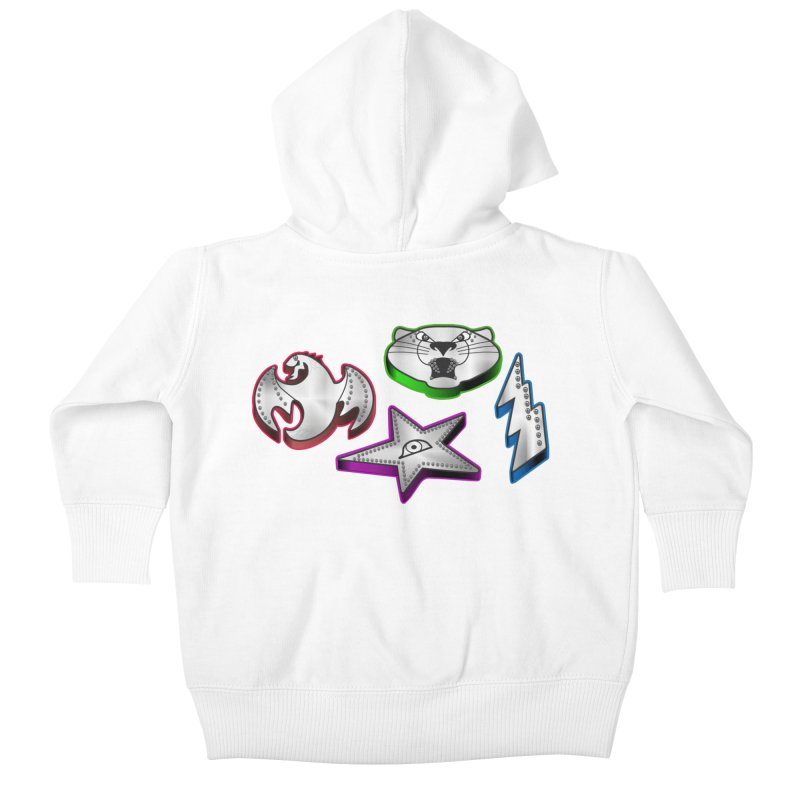 The Talisman Kids Baby Zip-Up Hoody by Klick Tee Shop