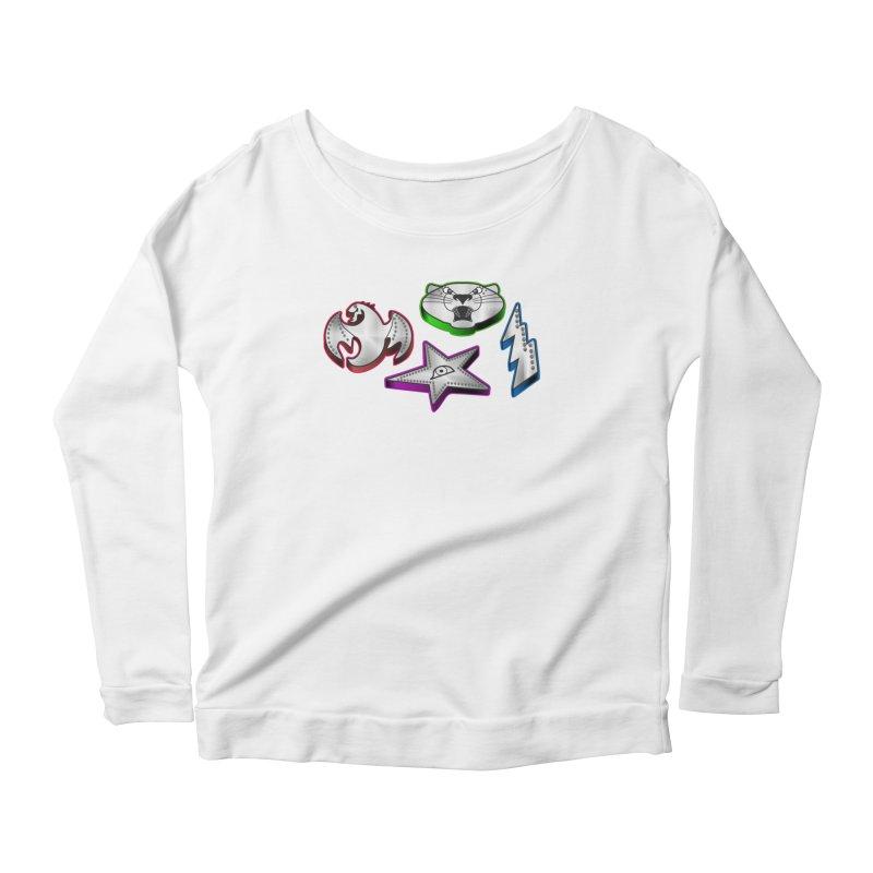 The Talisman Women's Scoop Neck Longsleeve T-Shirt by Klick Tee Shop