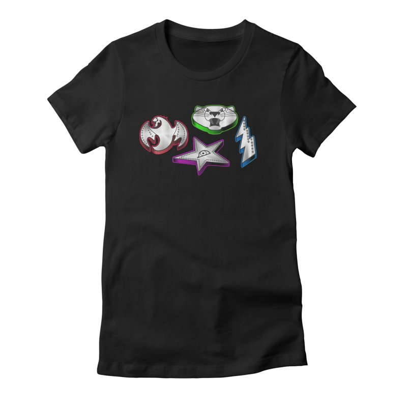The Talisman Women's Fitted T-Shirt by Klick Tee Shop
