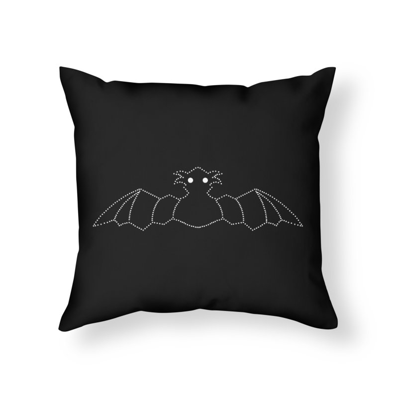 Bat Pants Home Throw Pillow by Klick Tee Shop