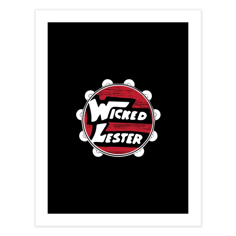 KISS Wicked Lester Home Fine Art Print by Klick Tee Shop