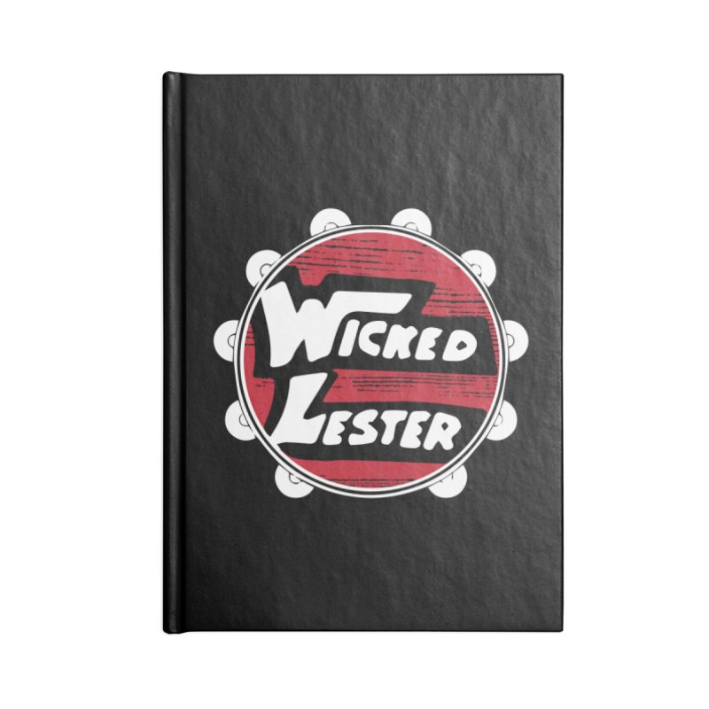 Wicked Lester Accessories Blank Journal Notebook by Klick Tee Shop