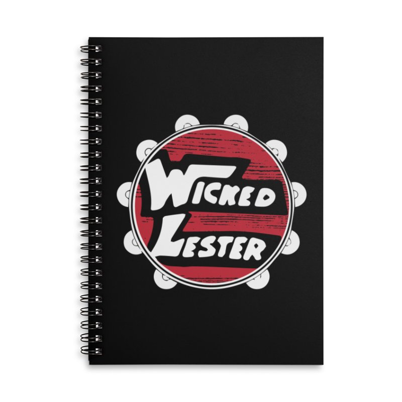 Wicked Lester Accessories Lined Spiral Notebook by Klick Tee Shop
