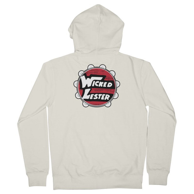 Wicked Lester Men's French Terry Zip-Up Hoody by Klick Tee Shop