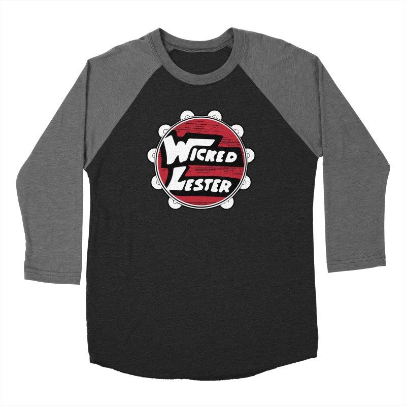 Wicked Lester Women's Baseball Triblend Longsleeve T-Shirt by Klick Tee Shop