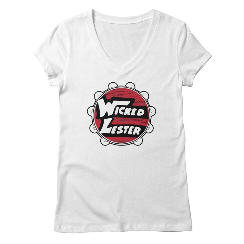 Wicked Lester Women's Regular V-Neck by Klick Tee Shop