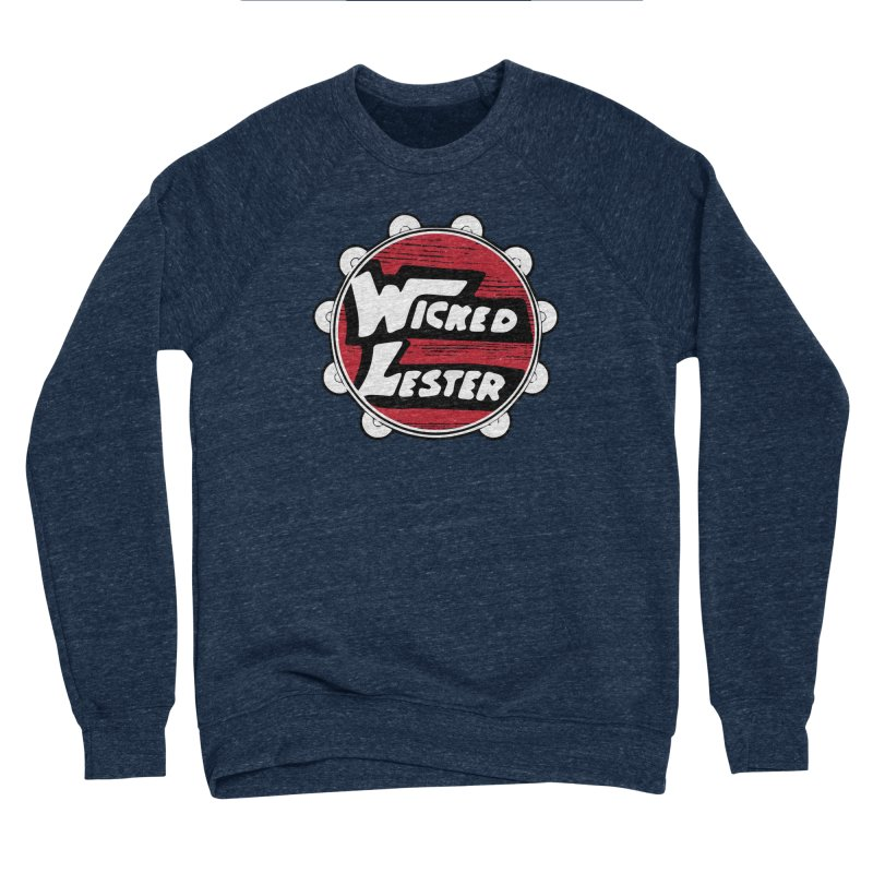 Wicked Lester Men's Sponge Fleece Sweatshirt by Klick Tee Shop