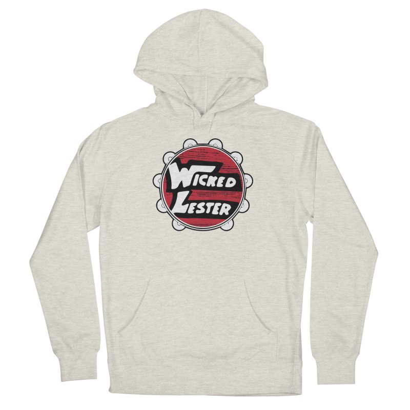 Wicked Lester Men's French Terry Pullover Hoody by Klick Tee Shop