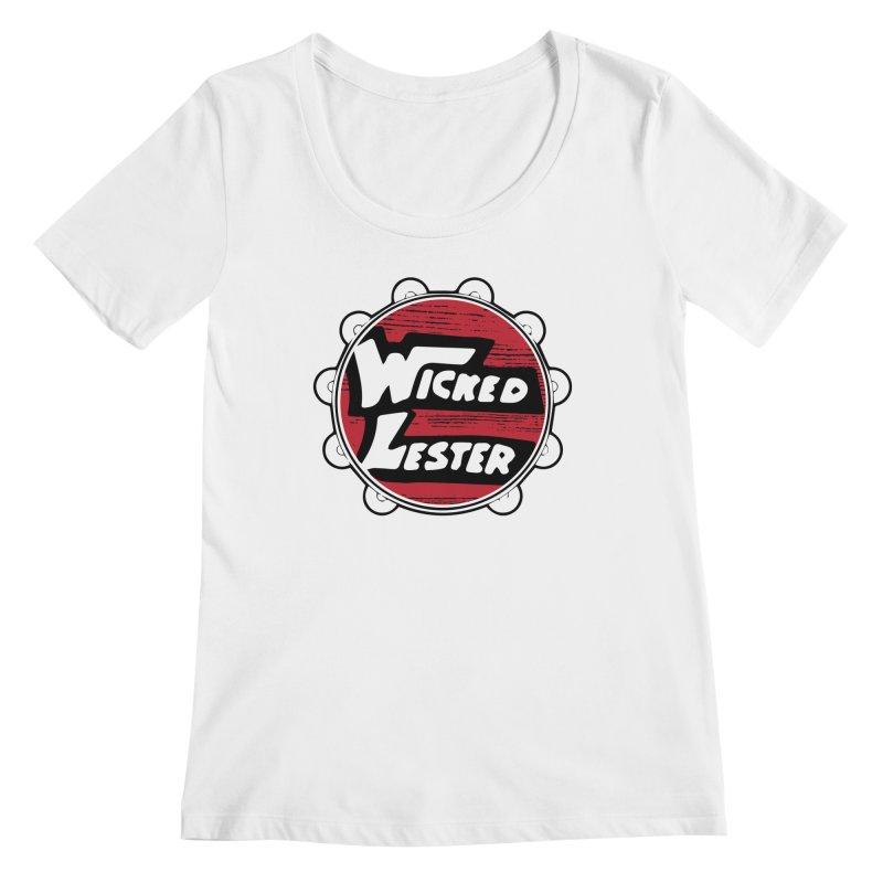 Wicked Lester Women's Regular Scoop Neck by Klick Tee Shop