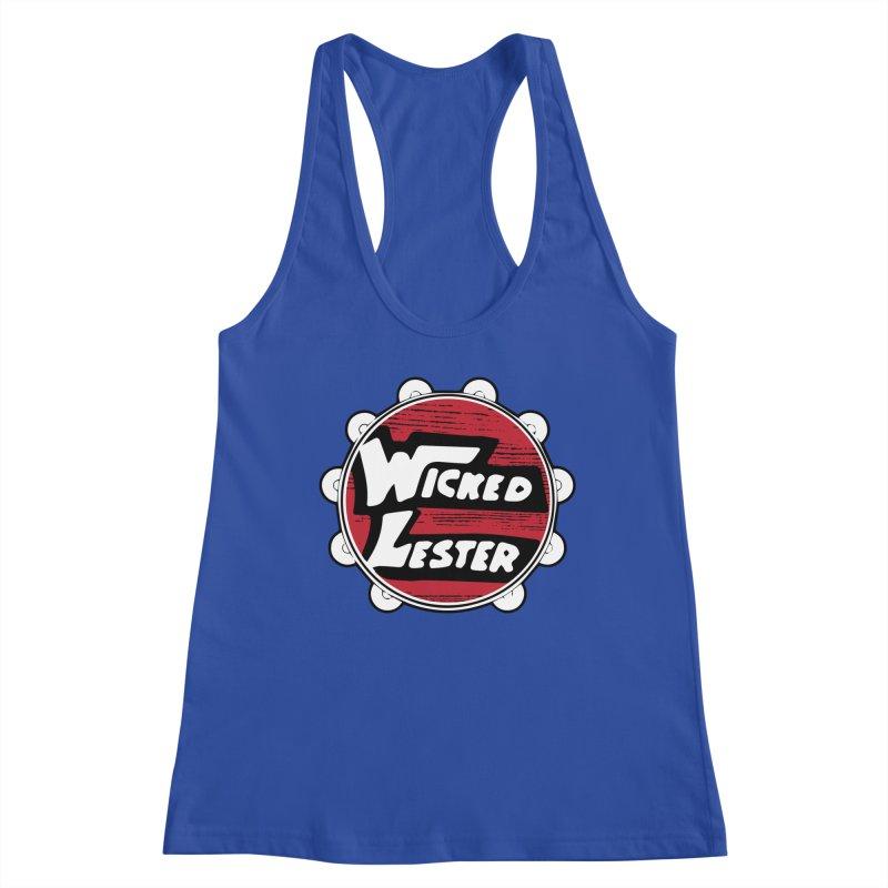 Wicked Lester Women's Racerback Tank by Klick Tee Shop