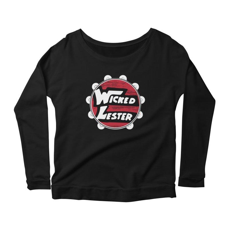 Wicked Lester Women's Scoop Neck Longsleeve T-Shirt by Klick Tee Shop
