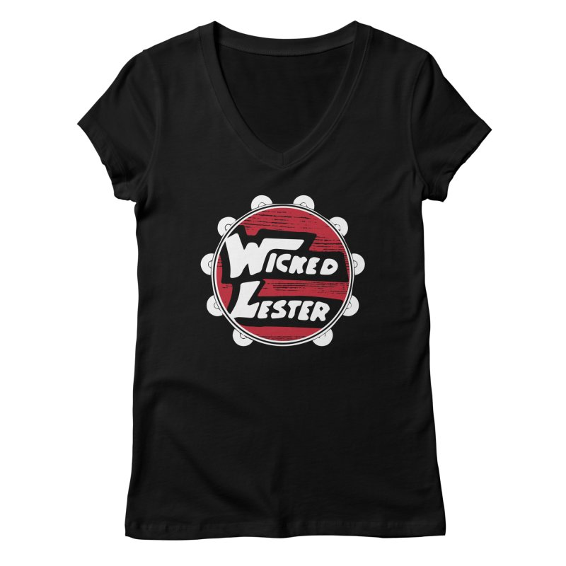 Wicked Lester Women's V-Neck by Klick Tee Shop
