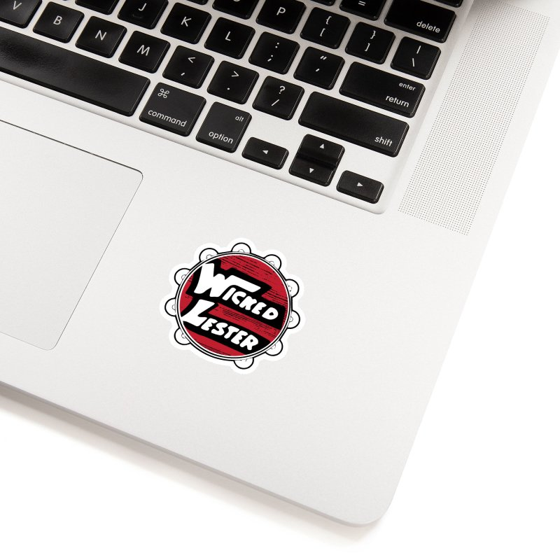 Wicked Lester Accessories Sticker by Klick Tee Shop