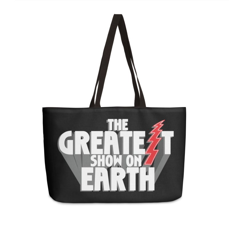The Greatest Show On Earth Accessories Weekender Bag Bag by Klick Tee Shop