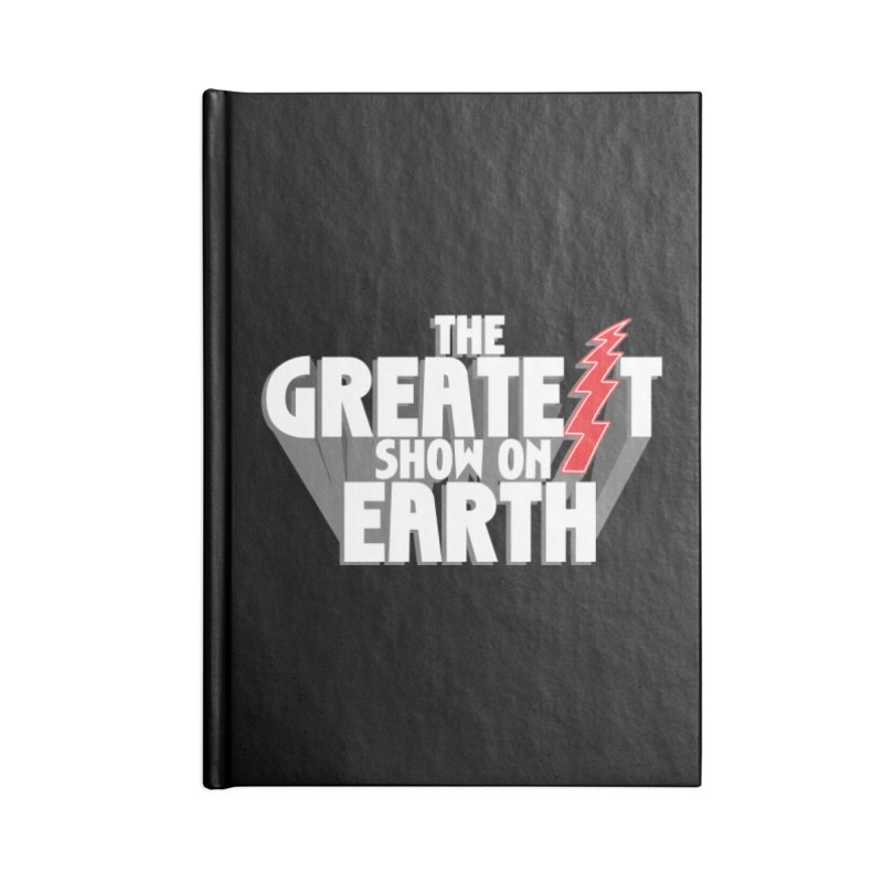 The Greatest Show On Earth Accessories Blank Journal Notebook by Klick Tee Shop