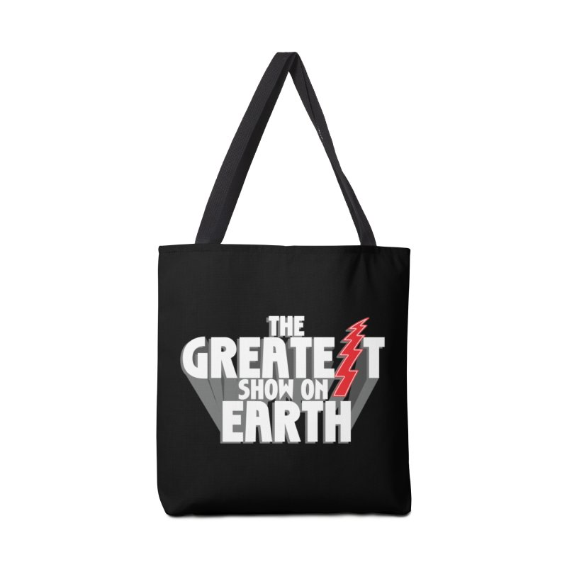 The Greatest Show On Earth Accessories Tote Bag Bag by Klick Tee Shop