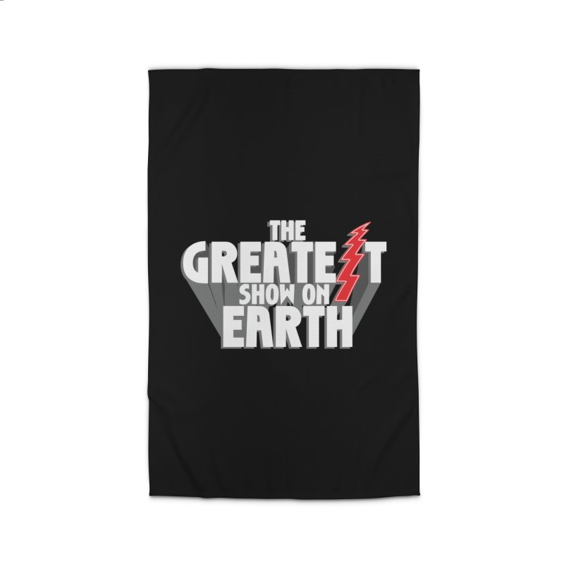 The Greatest Show On Earth Home Rug by Klick Tee Shop