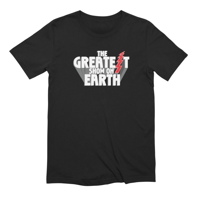 The Greatest Show On Earth Men's T-Shirt by Klick Tee Shop