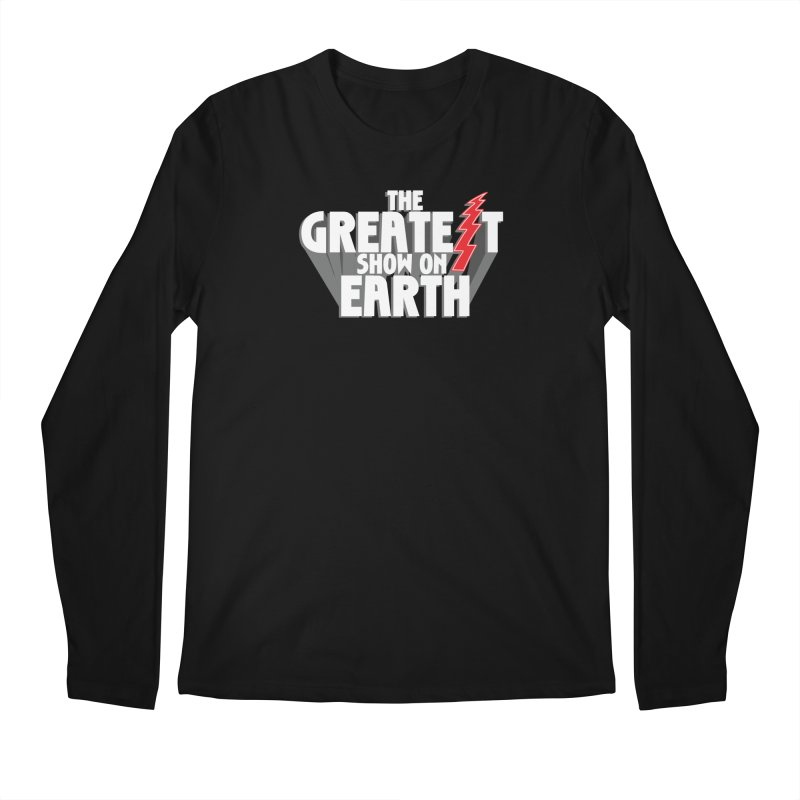The Greatest Show On Earth Men's Regular Longsleeve T-Shirt by Klick Tee Shop