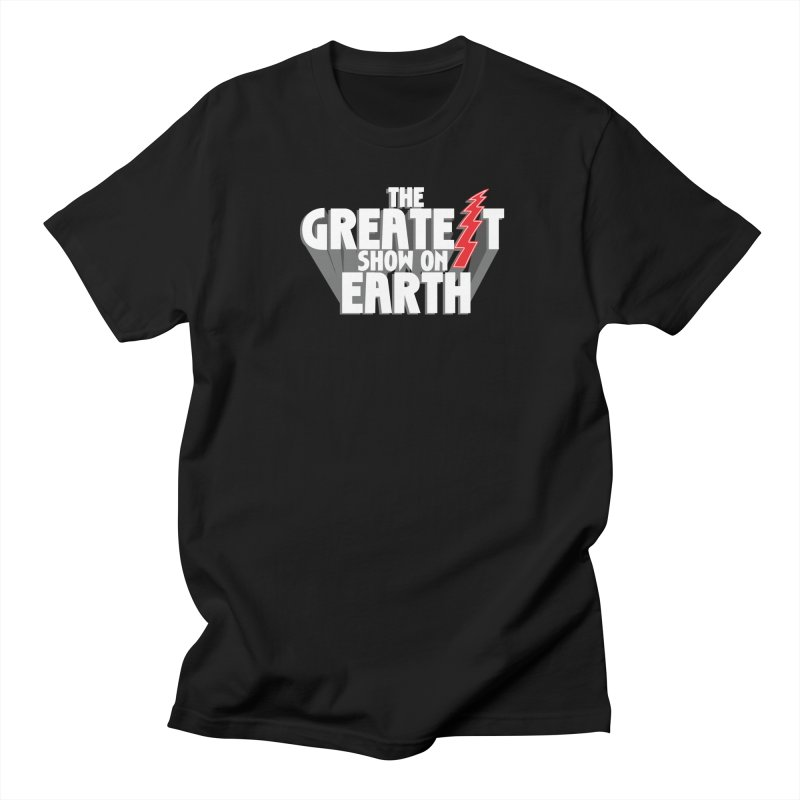 The Greatest Show On Earth Men's Regular T-Shirt by Klick Tee Shop