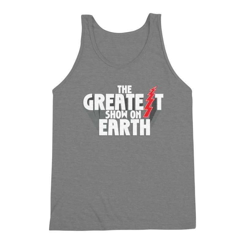 The Greatest Show On Earth Men's Triblend Tank by Klick Tee Shop
