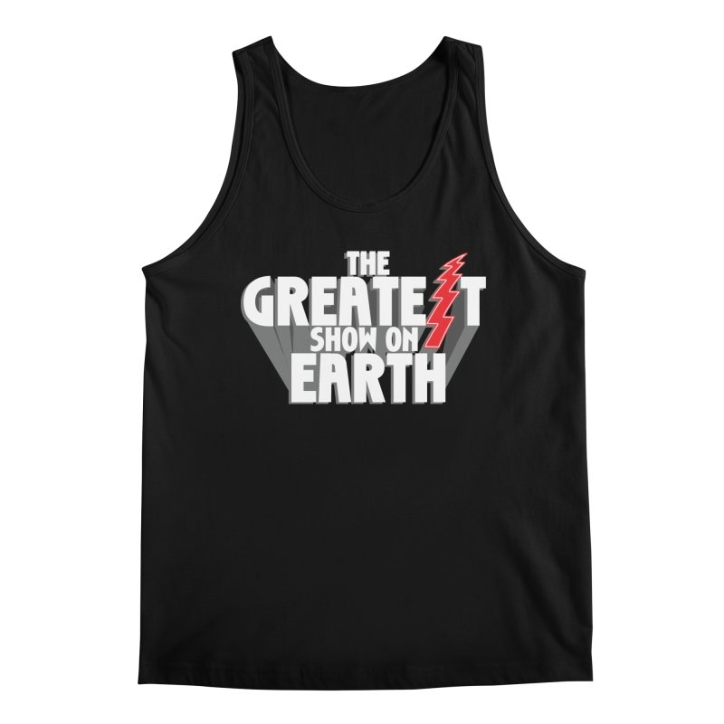 The Greatest Show On Earth Men's Regular Tank by Klick Tee Shop