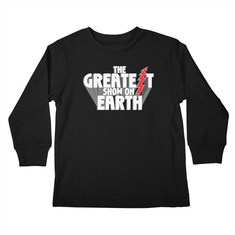 The Greatest Show On Earth Kids Longsleeve T-Shirt by Klick Tee Shop