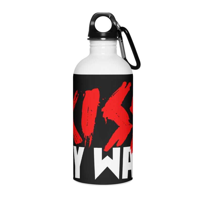 Kiss My Wax Accessories Water Bottle by Klick Tee Shop