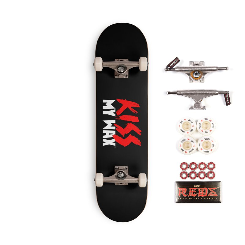 Kiss My Wax Accessories Complete - Pro Skateboard by Klick Tee Shop