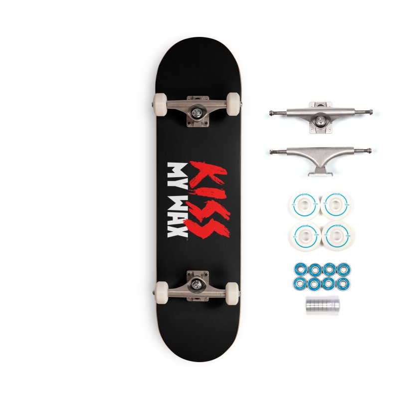 Kiss My Wax Accessories Complete - Basic Skateboard by Klick Tee Shop