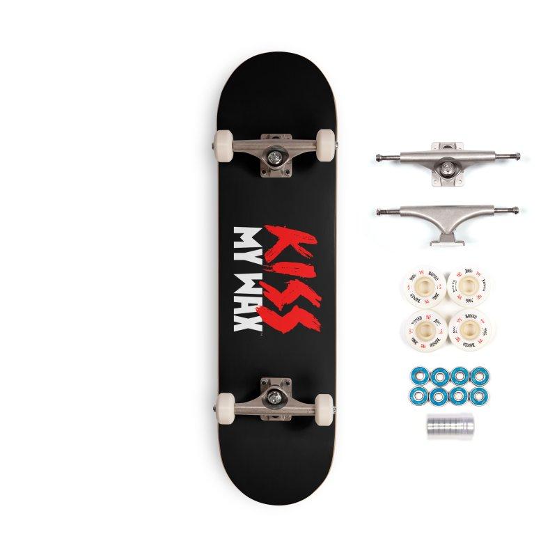 Kiss My Wax Accessories Skateboard by Klick Tee Shop