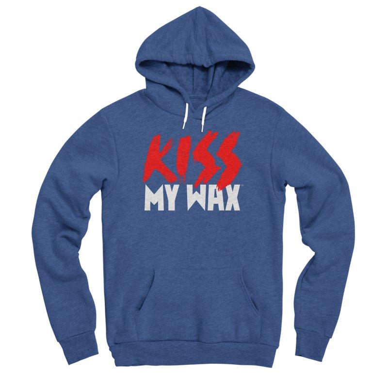 Kiss My Wax Men's Sponge Fleece Pullover Hoody by Klick Tee Shop