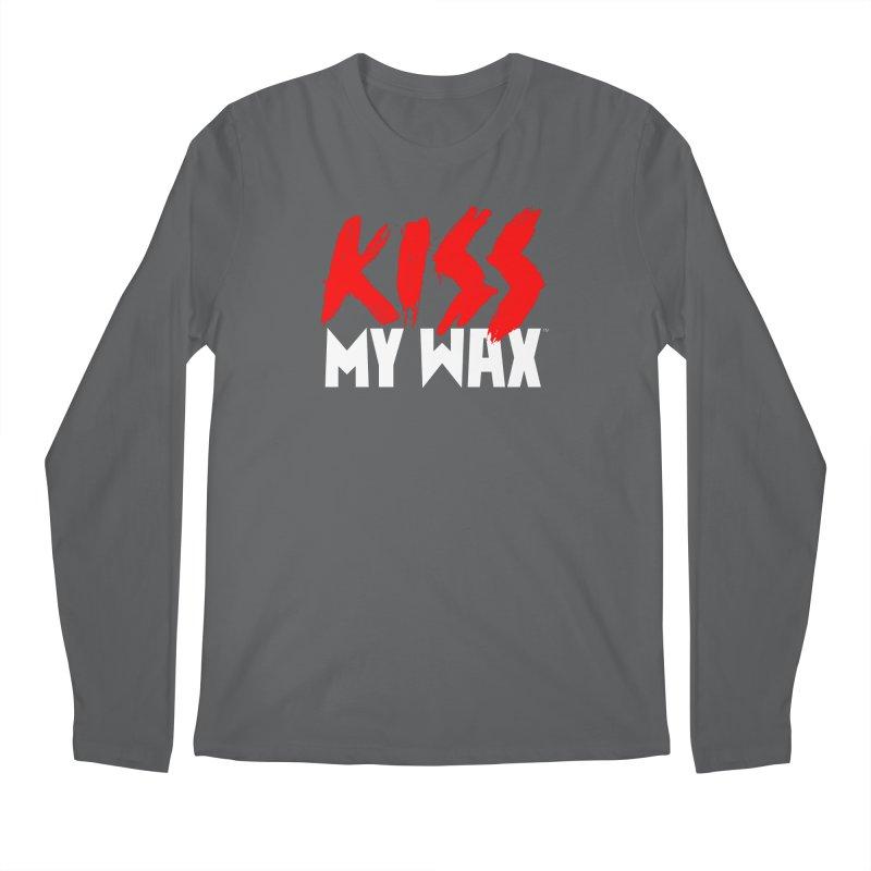 Kiss My Wax Men's Longsleeve T-Shirt by Klick Tee Shop