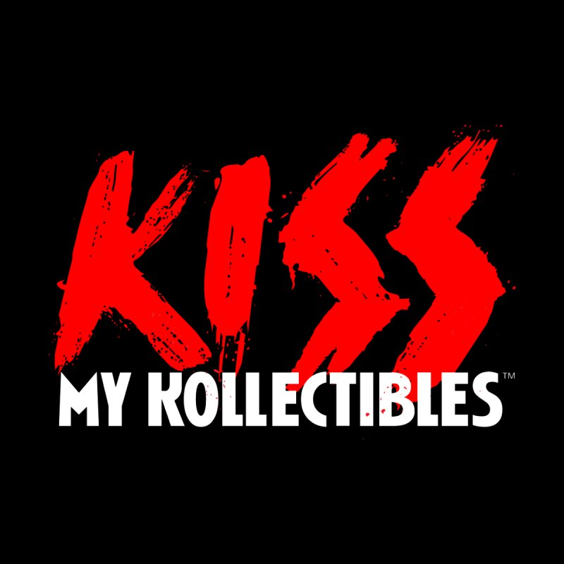 Kiss My Kollectibles Home Fine Art Print by Klick Tee Shop