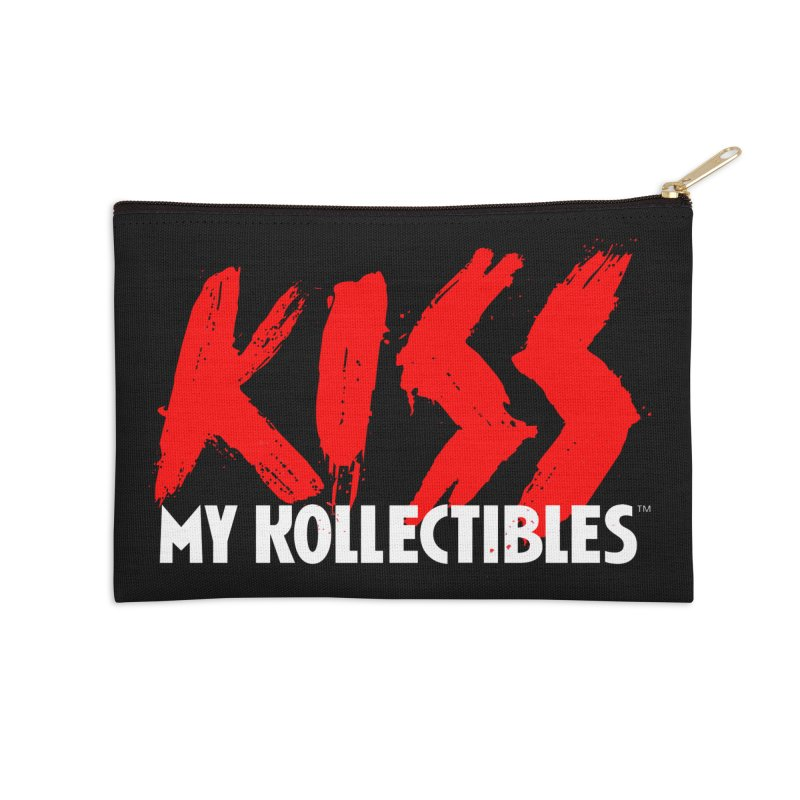 Kiss My Kollectibles Accessories Zip Pouch by Klick Tee Shop