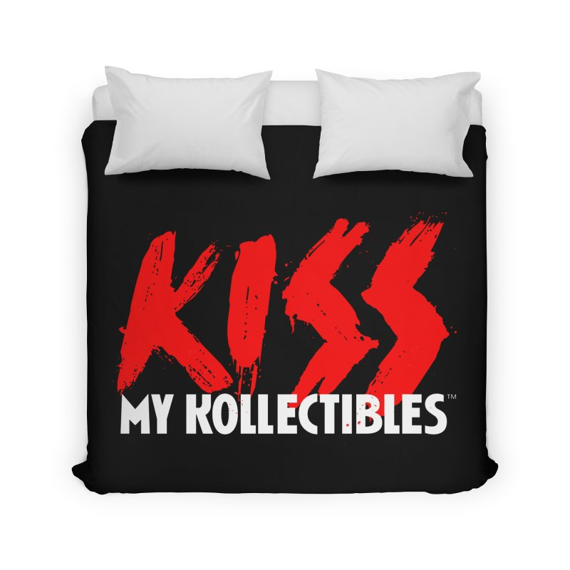 Kiss My Kollectibles Home Duvet by Klick Tee Shop