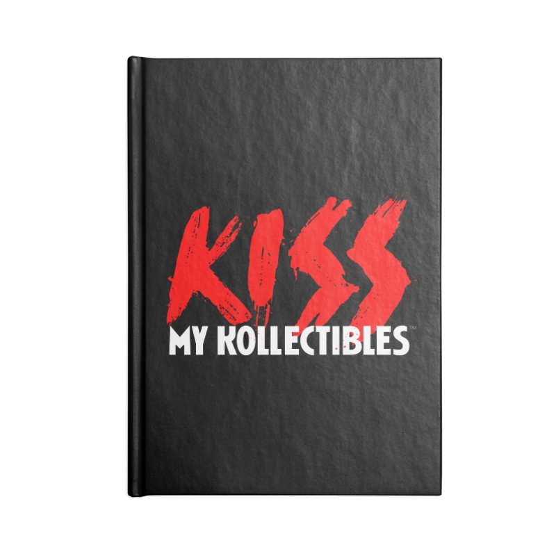 Kiss My Kollectibles Accessories Lined Journal Notebook by Klick Tee Shop