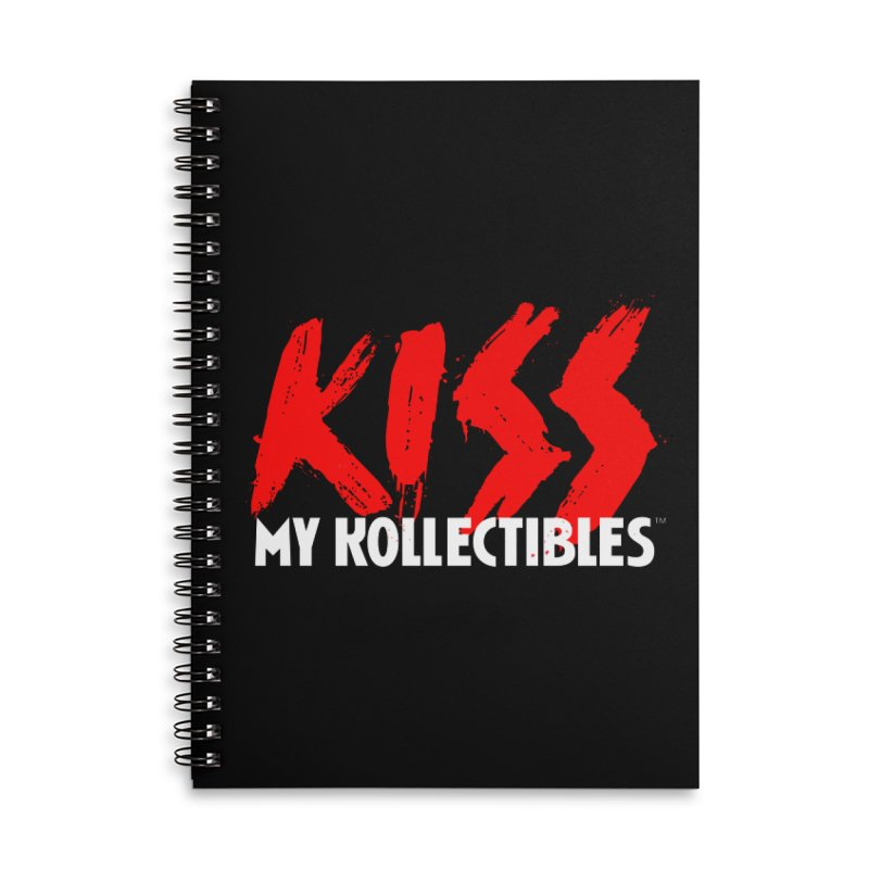 Kiss My Kollectibles Accessories Lined Spiral Notebook by Klick Tee Shop