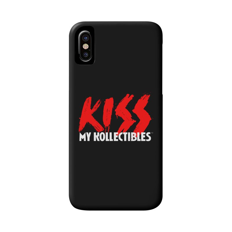 Kiss My Kollectibles Accessories Phone Case by Klick Tee Shop