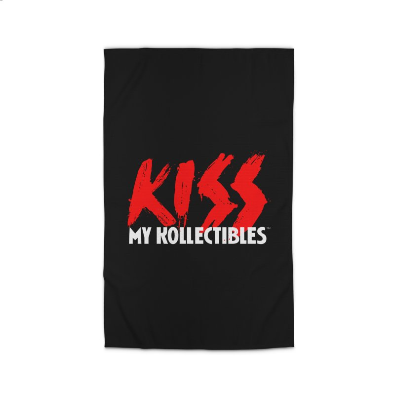 Kiss My Kollectibles Home Rug by Klick Tee Shop