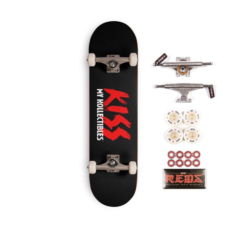 Kiss My Kollectibles Accessories Skateboard by Klick Tee Shop