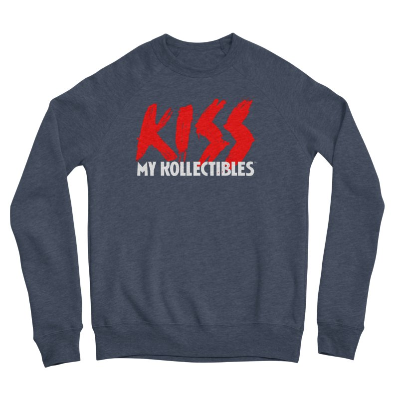 Kiss My Kollectibles Men's Sponge Fleece Sweatshirt by Klick Tee Shop