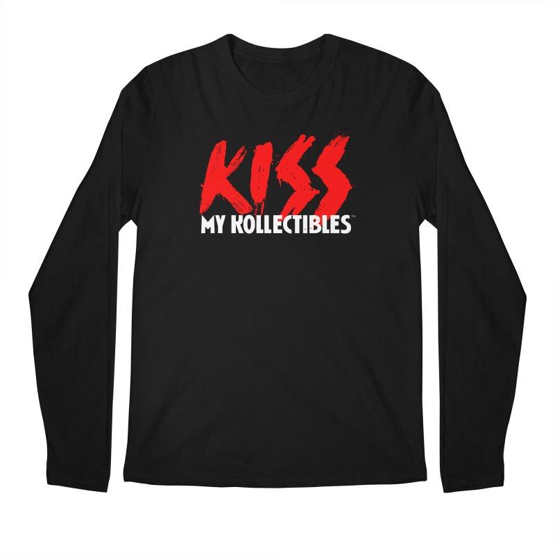 Kiss My Kollectibles Men's Regular Longsleeve T-Shirt by Klick Tee Shop